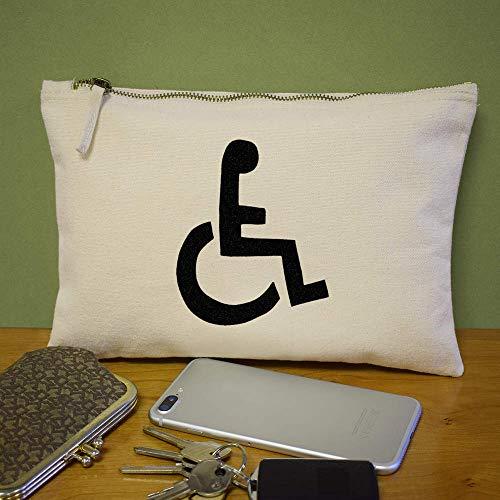 De Silla Ruedas' Case Embrague Azeeda Bolso Accesorios 'símbolo cl00005918 UTq556