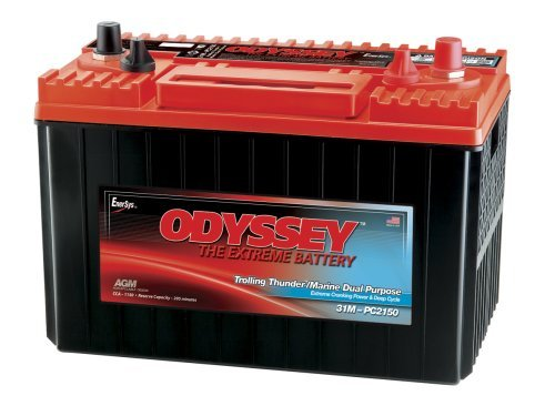 Odyssey 31M-PC2150ST-M TROLLING Thunder Marine Dual Purpose Battery
