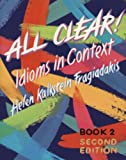 download ebook all clear! idioms in context (text/audio cd package) pdf epub