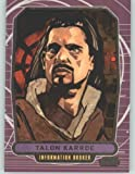 2012 Star Wars Galactic Files #201 Talon Karrde (Non-Sport Collectible Trading Cards)