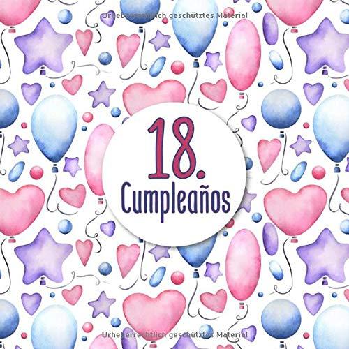18. Cumpleaños: Libro de invitados 18. cumpleaños - El ...
