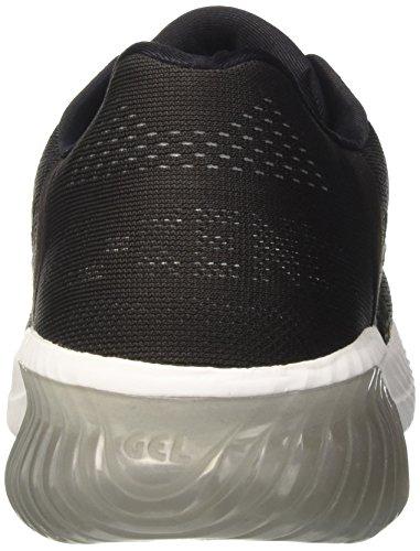 kenun De white phantom Asics Chaussures Gel Noir black Gymnastique Femme q5zptvz