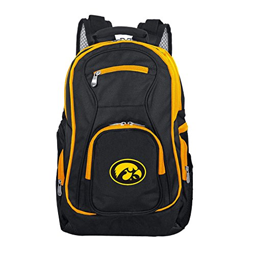 - NCAA Iowa Hawkeyes Colored Trim Premium Laptop Backpack