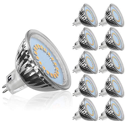 GU5 3 Bulbs Dimmable Halogen Equivalent