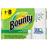 #7: Bounty Paper Towels, Prints, Big Roll, 6 Count