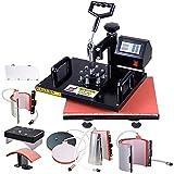 Yescom 7-in-1 12''x15'' 700W Heat Sublimation Transfer Press Machine with Glove