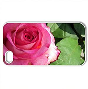 Beautiful roCase For Ipod Touch 5 Cover (Flowers Series, Watercolor style, White)