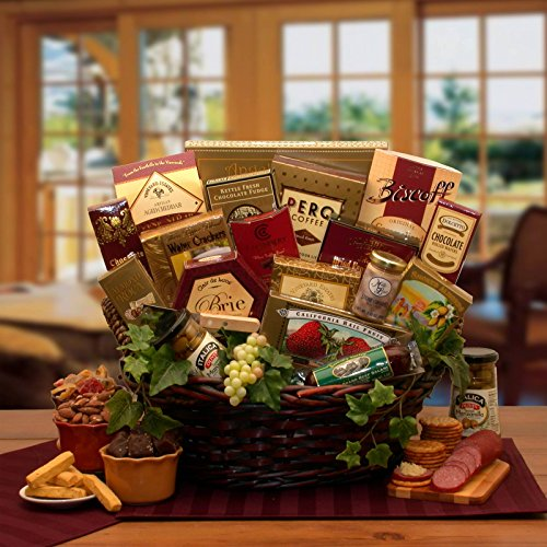 (Delicious Gourmet Gift Basket)