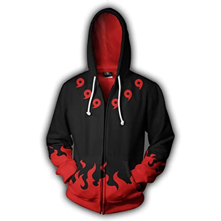 Anime Naruto0 Sweatshirt Cosplay Hoodie 3D Printed Pullover Sweater Couple Coats