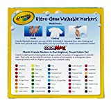 Crayola Ultra-Clean Washable Broad Line Markers, 40 Classic Crayola Colors Non-Toxic Art Tools for Kids & Toddlers, Huge Variety of Bold Vibrant Colors, Great for Classrooms