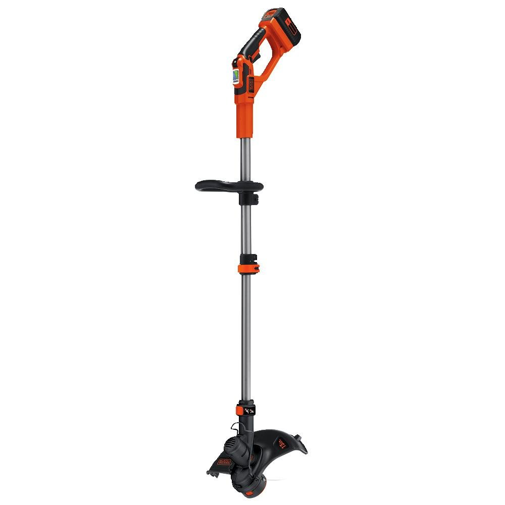 BLACK+DECKER LST136W 40V MAX Lithium Ion String Trimmer, 13''