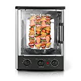 Upgraded Nutrichef Countertop Turkey Thanksgiving  Rotisserie Oven...