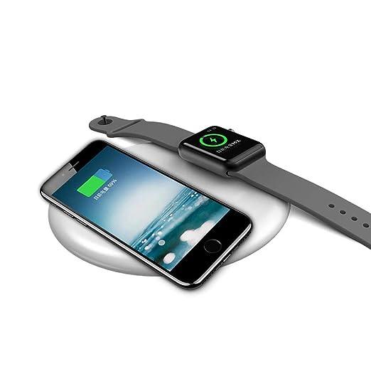 MOGOI QI - Cargador inalámbrico 2 en 1 para iPhone XS Max/XS ...