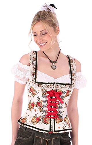 Krüger Dirndl–Blusa Trachten–Mujer