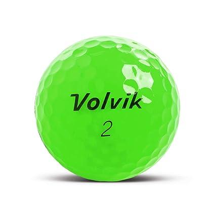 Volvik Crystal Verde Bola de Golf - Impreso Personalizado con su ...