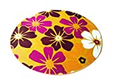 Multi-size Print Round Carpet Area Floor Rug Doormat LivebyCare Coral Fleece Entrance Entry Way Front Door Mat Runner Ground Rugs for for Decor Decorative Study Room