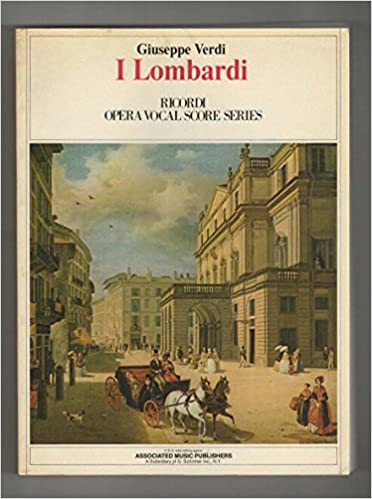 DOC I Lombardi (Ricordi Opera Vocal Score Series). photos shown Worms company deliver Small erste