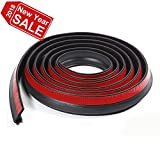 Loobani 10ft Adhesive Universal Pickup Truck Bed Tailgate Seal Kit, Keep Dust Dirt and Moisture Out From Camper Shells and Tonneau Cover Gap With This Sealer Tape, EPDM Rubber Foam Draught Excluder
