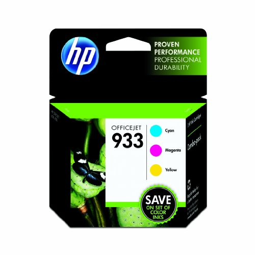 933 Color Cartridge Combo Pack