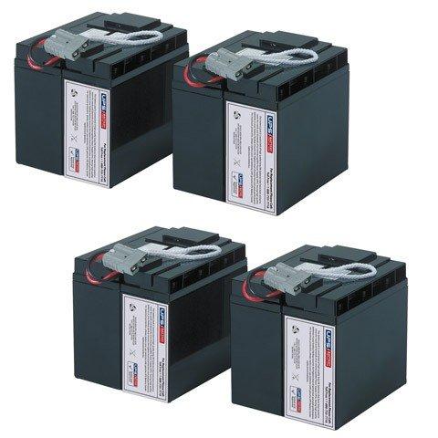UPSBatteryCenter Replacement battery set for SU48RMXLBP