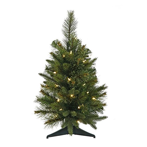 Cashmere Pine Pre-lit LED Tabletop Christmas Tree