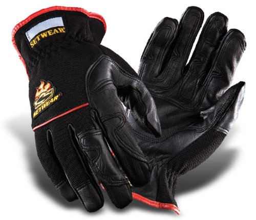 - SetWear Hot Hand, Heat Resistant Leather Gloves, Pair XX-Large (Size 12) Approximatly 5-5.5