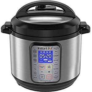 Instant Pot DUO Plus 6 Qt 9-in-1 Multi- Use Programmable Pressure Cooker, Slow Cooker, Rice Cooker, Yogurt Maker, Egg Cooker, Sauté, Steamer, Warmer, and Sterilizer