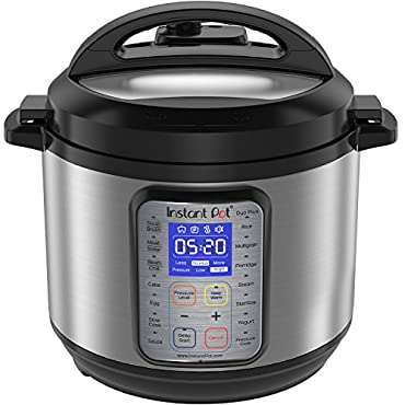 Instant Pot DUO Plus 6 Qt  9-in-1 Multi- Use Programmable Pressure Cooker, Slow Cooker, Rice Cooker, Yogurt Maker, Egg Cooker, Saute, Steamer, Warmer, and Sterilizer