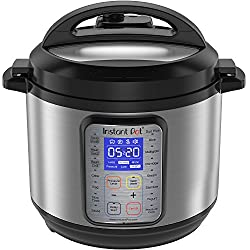 Instant Pot Duo Plus 60, 6 Qt 9-in-1 Multi- Use Programmable Pressure Cooker, Slow Cooker, Rice Cooker, Yogurt Maker, Egg Cooker, Sauté, Steamer, Warmer, & Sterilizer