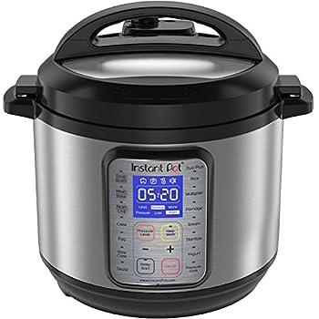 Instant Pot Duo Plus 60, 6 Qt 9-in-1 Multi- Use Programmable Pressure Cooker, Slow Cooker, Rice Cooker, Yogurt Maker, Egg Cooker, Sauté, Steamer, Warmer, & Sterilizer 0