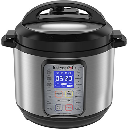 Instant Pot DUO Plus 60, 6 Qt  9-in-1 Multi- Use Programmable Pressure Cooker, Slow Cooker,...