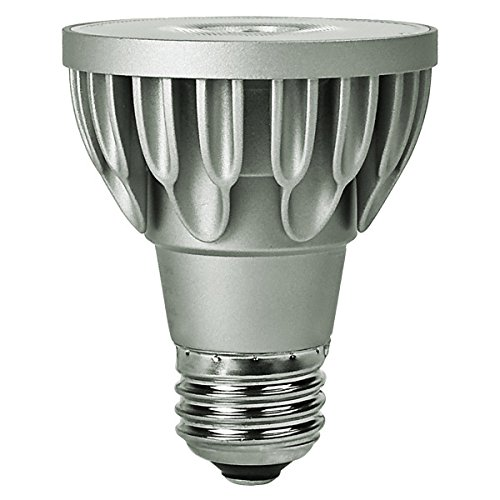 Bulbrite SP20-11-25D-930-03 SORAA 10.8W LED PAR20 3000K VIVID 25° Dimmable Light Bulb, Silver