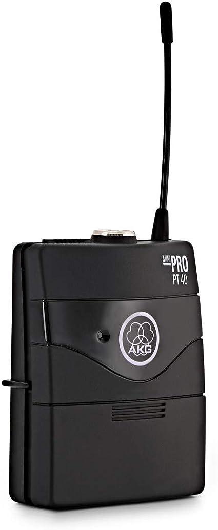 AKG WMS40 MINI INST ISM1 - Micrófono inalámbrico (banda UHF ...