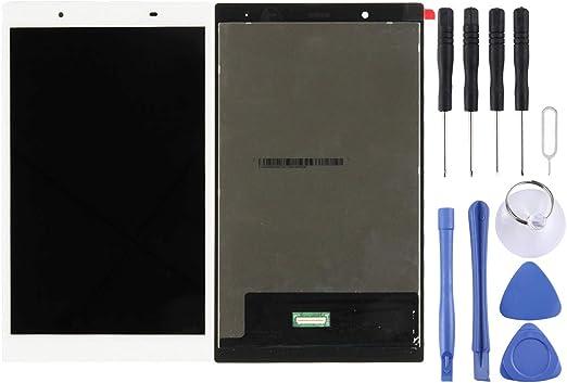 電話画面 レノボタブ4のためのCELINEZL LCDスクリーンとデジタイザフルアセンブリ8.0 TB-8504X / TB-8504(ホワイト) (色 : 白)