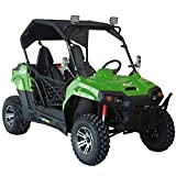 ALL GREAT FEATURES!! Durable UTV TrailMaster Challenger 150X Deluxe UTV Side by Side