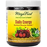 MegaFood - Daily Energy Booster Powder, Promotes Sustained Energy Throughout the Day, 30 Servings (1.86 oz) (FFP)
