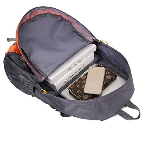 HCLHWYDHCLHWYD-montar al aire libre del alpinismo mochila bolsa de hombres y mujeres viajan mochila 35L bolsa de deporte mochila , 1 4