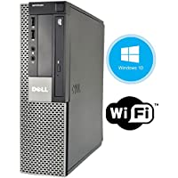 Dell Optiplex 960 SFF Desktop Computer PC - Intel Dual Core CPU 3.0GHz, 8GB Memory, 160 GB HDD, DVD, Windows 10 Professional (Certified Refurbished)