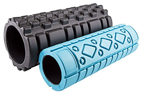 UPC 849344041887, Fit Spirit Set of 2 Textured High Density Exercise Sports Fitness Foam Rollers