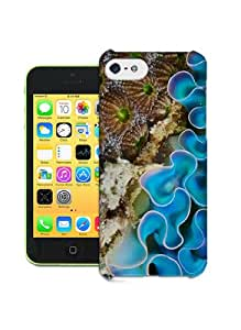 Fashionable Specialized Sea Anemone Durable Hard Plastic Case Cover For Iphone 5C