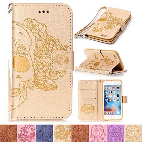 iPhone 6 Plus / 6S Plus Case, Firefish [Kickstand] Flip Folio Wallet (Card Ex Wallet)