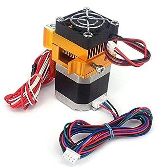 RONSHIN MK8 - Cabezal de impresión con sensor extrusor, 0,4 mm ...
