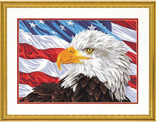Dimensions 73-91728 PaintWorks Paint by Numbers Kit for Adults and Kids 20 x 14 Bald Eagle