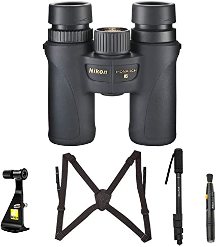 Vortex 10x50 Viper HD Binoculars with Bino Caddy Harness and Accessory Kit