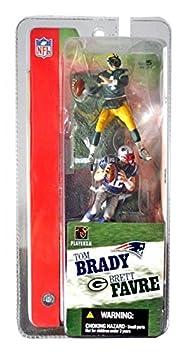 Mcfarlane 3 NFL 2-packs Tom Brady and Brett Favre by Unknown