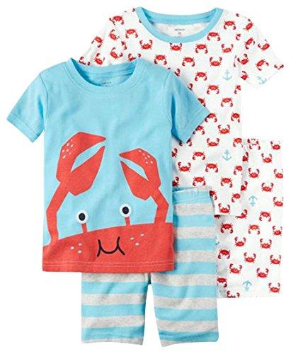Carters Baby Boys 4 Piece Pajama