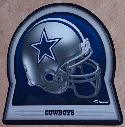 FATHEAD Dallas Cowboys Team Helmet Logo Official NFL Vinyl Wall Graphic 16