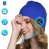 Lixada Bluetooth Beanie Hat Sombrero de Música Inalámbrico