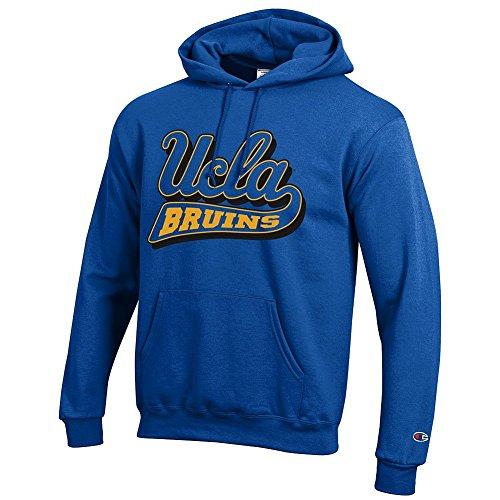 Elite Fan Shop UCLA Bruins Hooded Sweatshirt Icon Blue - L