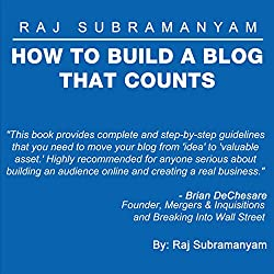 How to Build a Blog that Counts